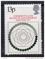GREAT BRITAIN GB - 1977 COMMONWEALTH MEETING STAMP FINE MNH ** SG1038 - 1952-.... (Elizabeth II)