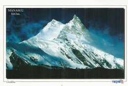 NEPAL. Mt Manaslu,the Eighth Highest Mountain In The World 8,163 Metres,addressed To ANDORRA, With Arrival Postmark - Alpinisme