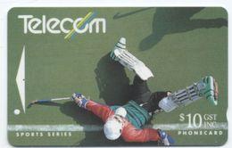 Hockey  Sport Sports Séries Télécarte TELECOM  Phonecard (S. 320) - Nouvelle-Zélande