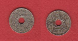 Tunisie  / KM 243 / 10 Centimes 1919 / TTB - Tunisia