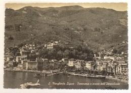 S.MARGHERITA LIGURE PANORAMA ARRIVO DELL'IDROVOLANTE NON VIAGGIATA - Genova