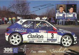 Championnat De France Des Rallyes 1997- PEUGEOT 306- Pilotes G Et H.Panizzi - Rally Racing