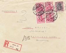 Berlin 1909, Einschreiben Nach Biberach - Briefe U. Dokumente