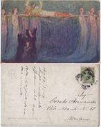 Gloria Agli Eroi. Illustrazione G. Vianello. Viaggiata - Illustratori & Fotografie