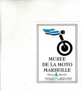 MARSEILLE MUSEE DE LA MOTO AUTOCOLANT - Aufkleber