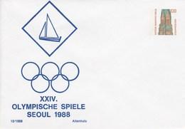 B Mi.Nr. PU 141/7**  XXIV. Olympische Spiele Seoul 1988 - Berlin (West)