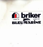 LORIENT VANNES BRIKER BLEU MARINE AUTOCOLANT - Pegatinas