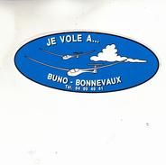 JE VOLE A BUNO BONNEVAUX  AUTOCOLANT - Stickers