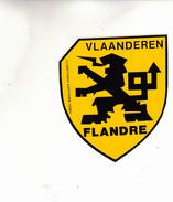 VLAANDEREN FLANDRE  AUTOCOLANT - Aufkleber
