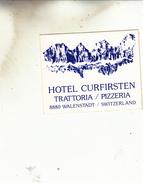 HOTEL CURFIRSTEN  WALENSTADT  AUTOCOLANT - Stickers