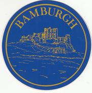 BAMBURGH AUTOCOLANT - Stickers