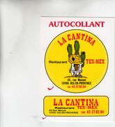 LA CANTINA RESTAURANT TEX MEX AIX EN PROVENCE AUTOCOLANT - Pegatinas