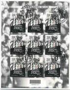 2014 Italia, Minifoglio Juventus Campione D'Italia Di Calcio Con Annullo Ufficiale Primo Giorno - 6. 1946-.. Republic