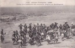 CPA SOUDAN  Région De BANDIAGARA  DANSE Des Habitants Des CAVERNES NU Ethnique Collection FORTIER - Sudan