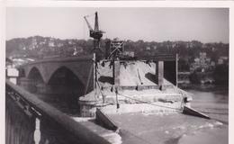 Lyon Pont Poincaré N° 117 CPA Glacée - Lyon