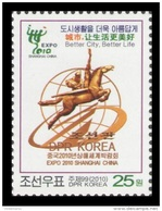 North Korea 2010 Mih. 5657 Expo-2010 In Shanghai, China MNH ** - Corea Del Norte