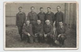 Carte Photo Kodak , Prisonniers Français Stalag , Soldat Originaire De Digne 04 Basses Alpes - Guerra 1939-45