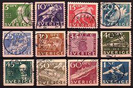 SU 10 - SUEDE Série De12 Timbres N° 235/46 Oblitérés - Poste