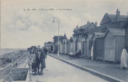 Luc Sur Mer 14 - Cabines Bois Sur La Digue - Editeur L. B. Edition Du Petit Paradis - Luc Sur Mer