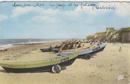 Luc Sur Mer 14 - Barques Bâteaux Pêche Plage - Luc Sur Mer