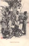 CONGO FRANCAIS - Ethnic V / Indigènes - Beau Cliché Animé - Congo Français - Autres