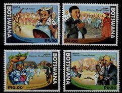(999) Botswana  2016 / Democracy And Dialogue  ** / Mnh  Michel - Botswana (1966-...)