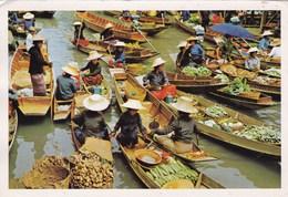 THAILANDE/MARCHE FLOTTANT PROVINCE DE RAJBURI (dil180) - Tailandia