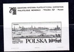 POLONIA . AÑO 1973.  Yv BL. 62 (MNH) - Blocks & Sheetlets & Panes