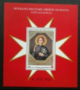 Malta Sovereign Military Order Of Malta 1999 (miniature Sheet) MNH - Malta