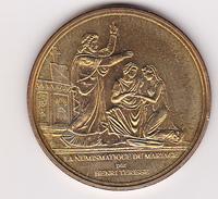 La Numismatique Du Mariage Médaille Touristique De La Monnaies De Paris - Monnaie De Paris