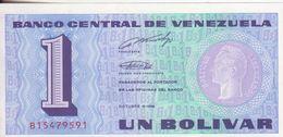 74-Venezuela-Cartamoneta-Banconota F.D.S.-1 Bolivar-Stato Di Conservazione: Ottimo - Venezuela