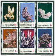 1985 Romania Minerali Minerals Minèraux Set MNH** B535 - Minerals
