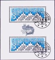 Mi.Nr.230 (Block4) SLOWAKEI 100 Jahre Organisierte Philatelie USED/O/GESTEMPELT - Used Stamps