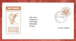 Illustrierter Umschlag Vogel, Luftpost, Postage Paid, Port Moresby 2012 (39691) - Papua New Guinea