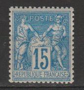 +++A SAISIR !!! N°90 NEUF** SCAN RECTO-VERSO CONTRACTUEL - 1876-1898 Sage (Type II)