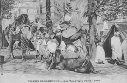 L'Oasis Saharienne.- LesTouareg à Paris 1909 - Sahara Occidental