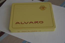 Boite Metal Alvaro Cigares - Scatole