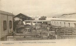 MAROC MEKNES SOCIETE DE TRANSPORTS MAZERES - Meknès
