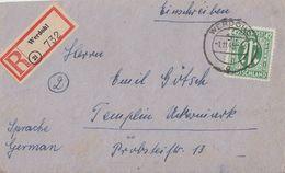 AM-Post R-Brief EF Minr.31 Werdohl 1.11.45 - Bizone
