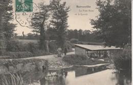 50 - BARNEVILLE - Le Pont Rose Et Le Lavoir - Barneville