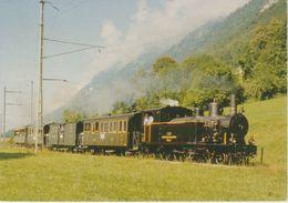 (TREN61) TRAIN. G 3/4 208, EBLIGEN EX SBB BRUNIG - Trains