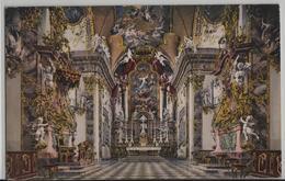 Einsiedeln - Klosterkirche, Hochaltar - Photoglob No. 2380 - SZ Schwyz