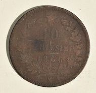 Monnaie Italie 10 Centesimi 1866 N - Victor-Emmanuel II Italia - Monnaies