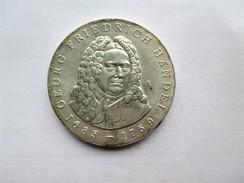 DDR 20 Mark, 1984 Georg Friedrich Handel. - [ 6] 1949-1990 : RDA - Rép. Démo. Allemande