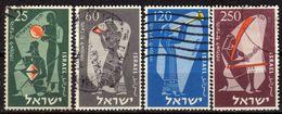 ISRAEL 1955 - MiNr: 114-117  Used - Israel
