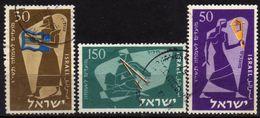 ISRAEL 1956 - MiNr: 135-137  Used - Israel