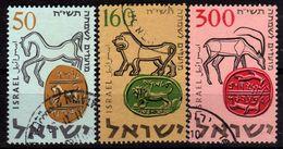 ISRAEL 1957 - MiNr: 145-147  Used - Israel