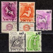 ISRAEL 1961-1962 - MiNr: Partie 5 Verschiedene Used - Israel