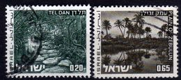 ISRAEL 1973 - MiNr: 598-599  Used - Israel