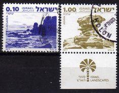 ISRAEL 1977 - MiNr: 719-720  Used - Israel